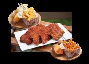 BBQ Ribs de porc