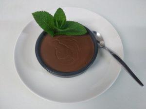Crème au chocolat Valrhona